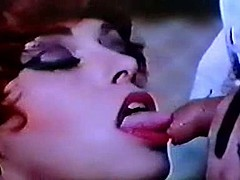 Vintage blowjob cumshot french
