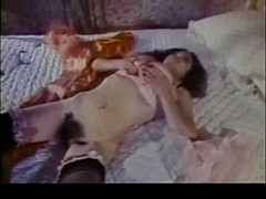 Busty Hairy Vintage Masturbation by TROC