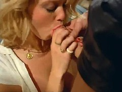 Taxi driver hard fuck blond woman