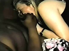 90's Wife Whips up a BBC Creampie