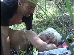Hot Outdoor Anal