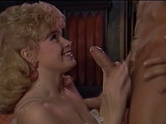 John Holmes: Battle Of Superstars (1980's) Threesome scene
